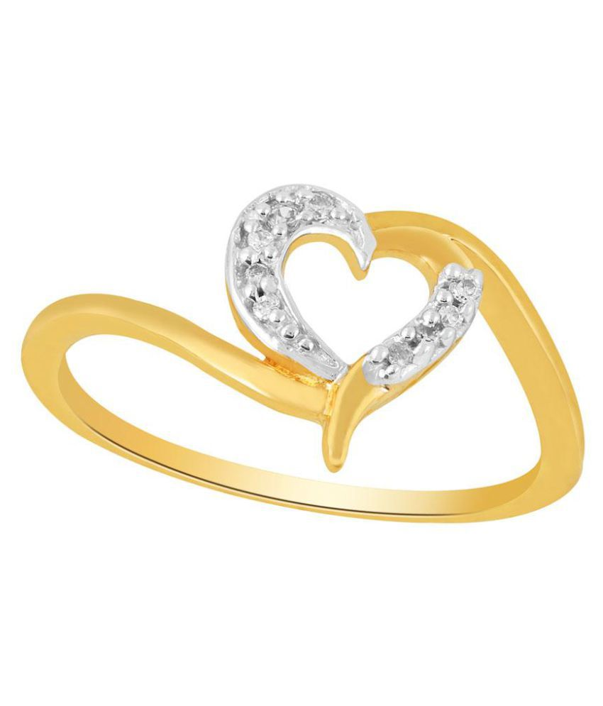 Asmi 18k Yellow Gold Diamond Ring