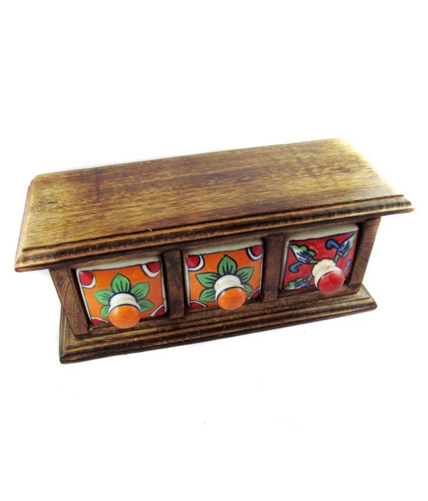 Antiqua V Group Wooden Handicraft Box