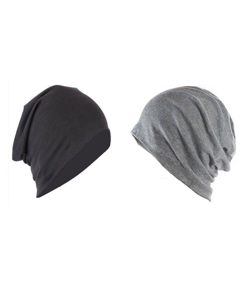 Mahi Multi Plain Cotton Caps