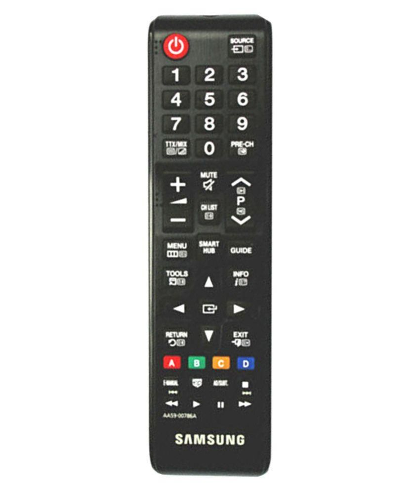 buy samsung aa59 00786a tv remote compatible with samsung led tv online at best price in india. Black Bedroom Furniture Sets. Home Design Ideas