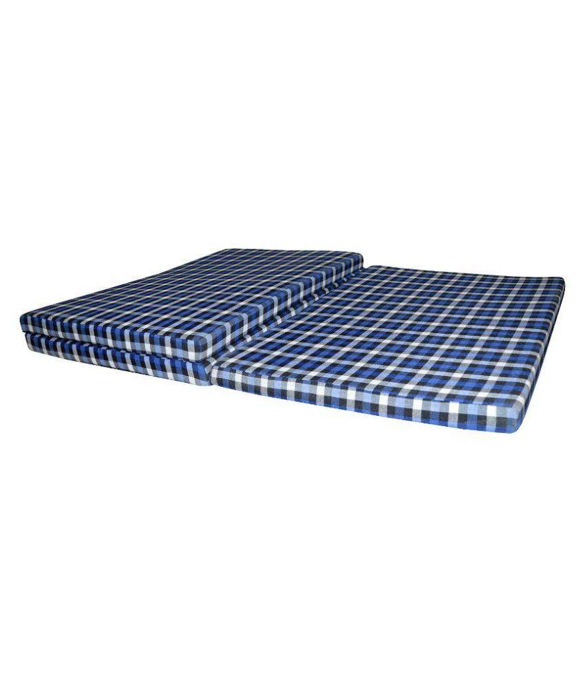 satcap satcap folding mattress single bed below 7 62cms 3 inches
