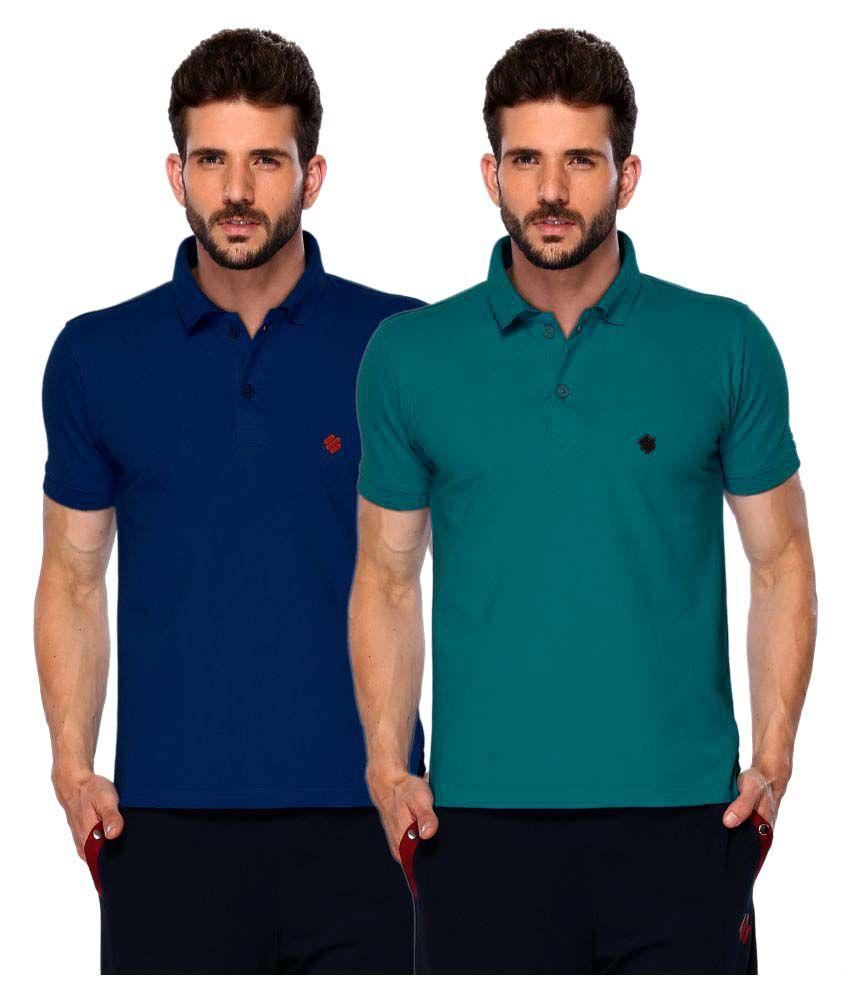 534bd6f3 ONN Multi Regular Fit Polo T Shirt - Buy ONN Multi Regular Fit Polo T Shirt  Online at Low Price - Snapdeal.com