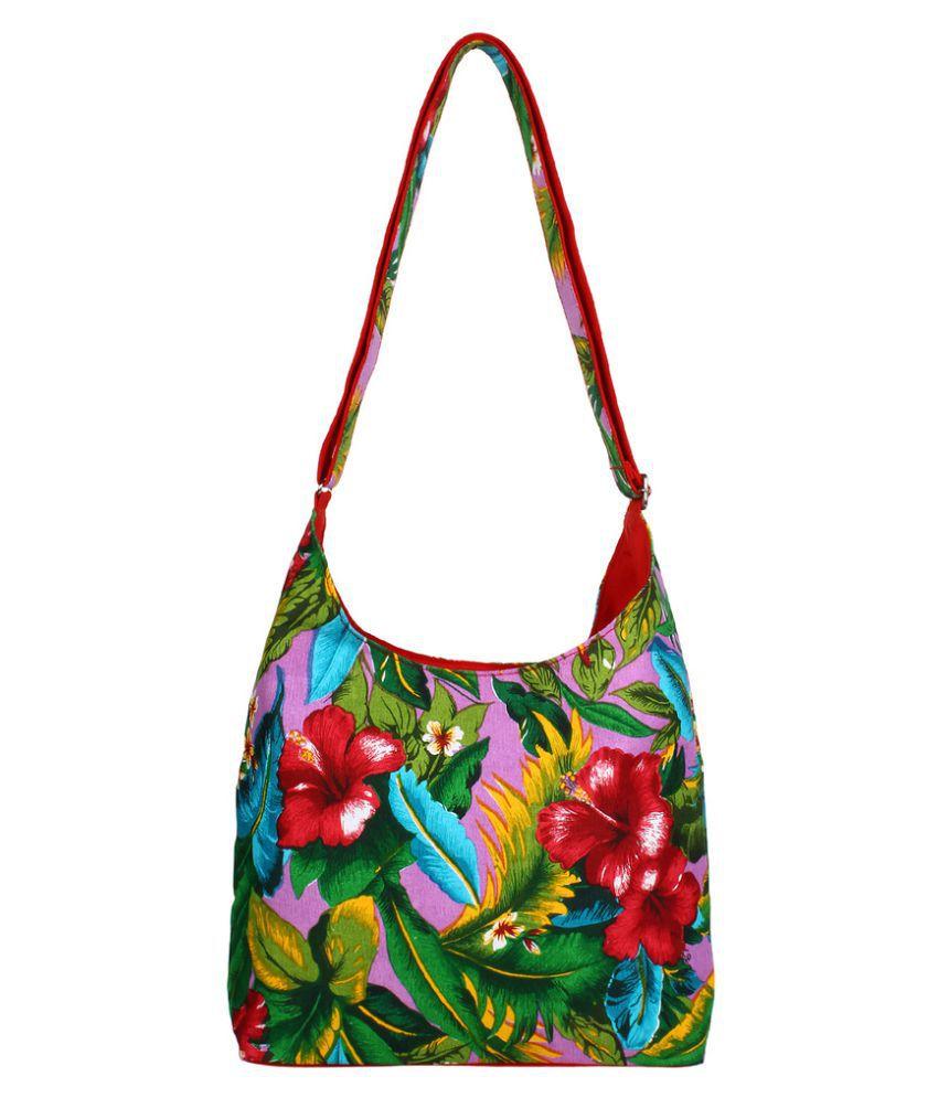 Anekaant Multi Canvas Sling Bag
