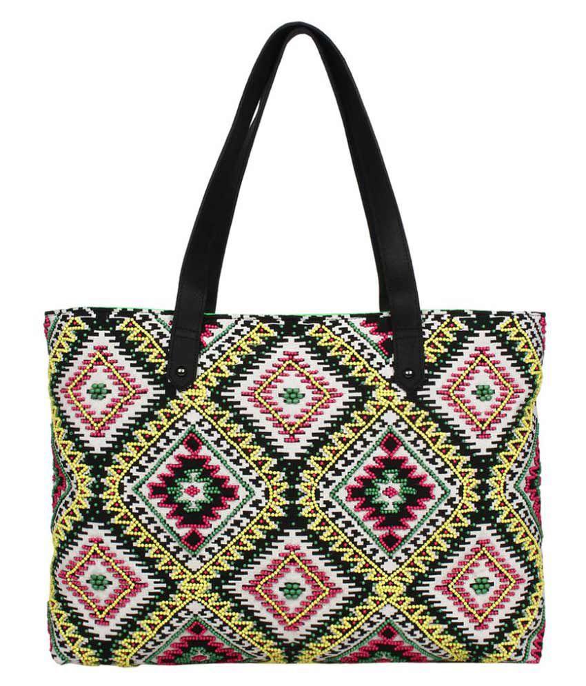 Anekaant Multi Fabric Shoulder Bag