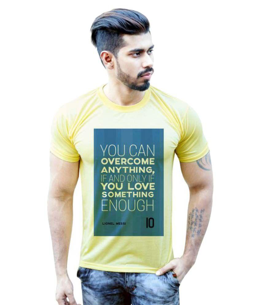 Bastard Tendencies Yellow Round T-Shirt