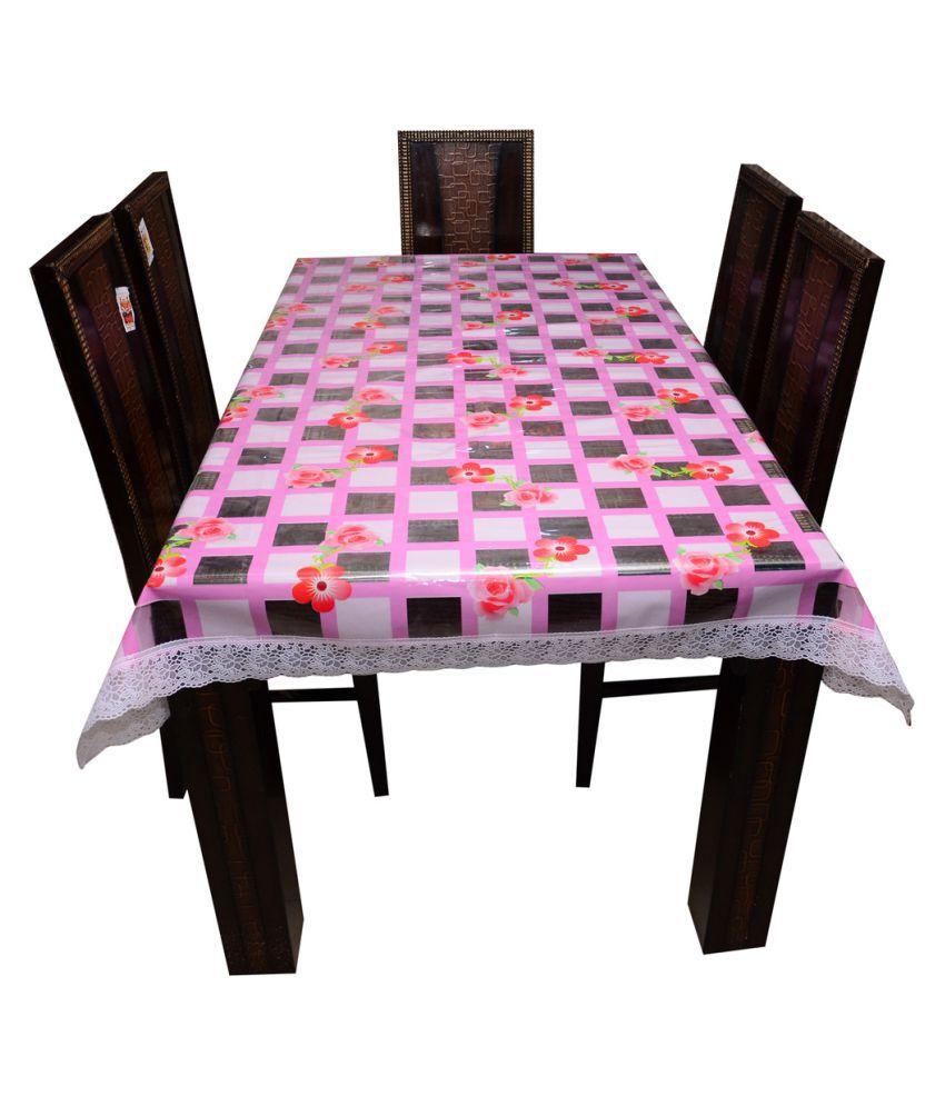 Decor Club 6 Seater PVC Single Table Covers