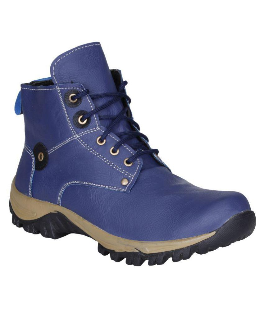 Kraasa Blue Cowboy boot