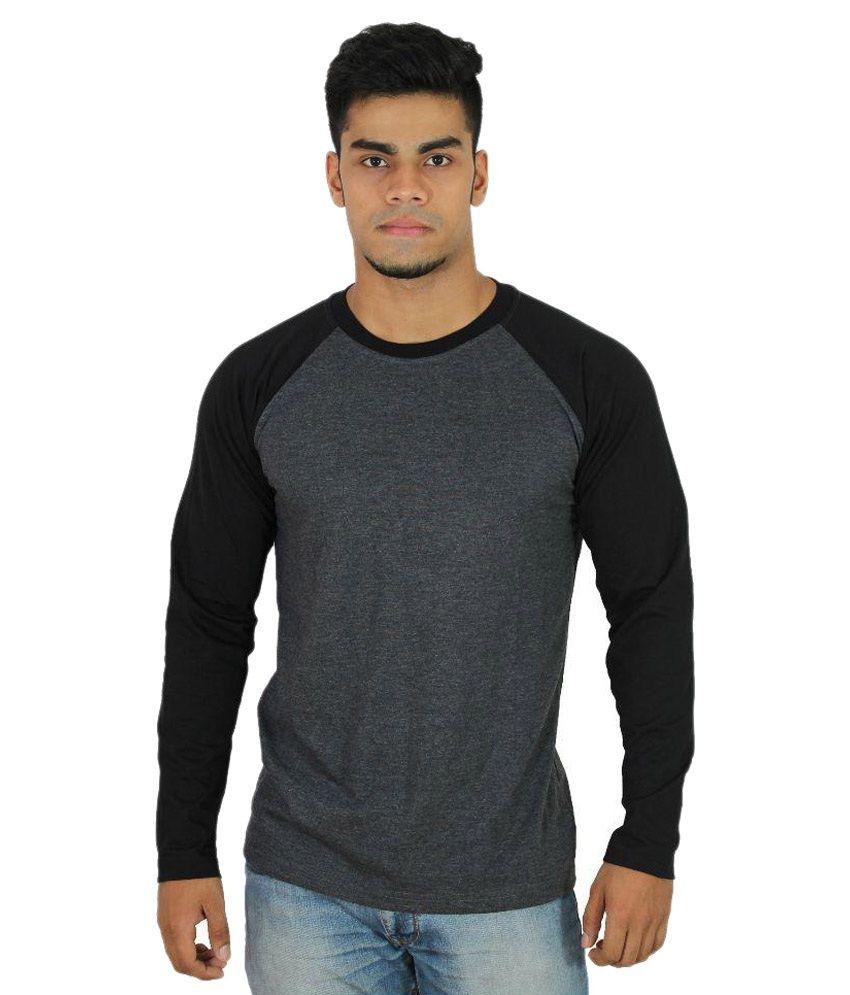 Risess Grey Round T-Shirt