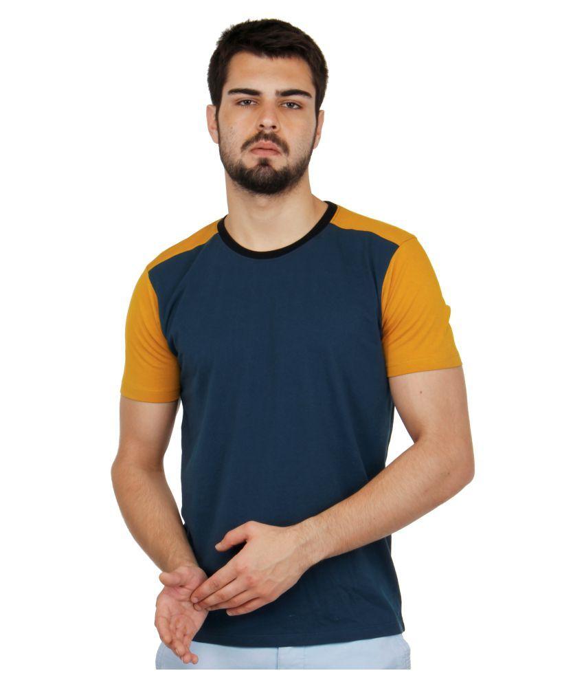 Cult Fiction Blue Round T-Shirt