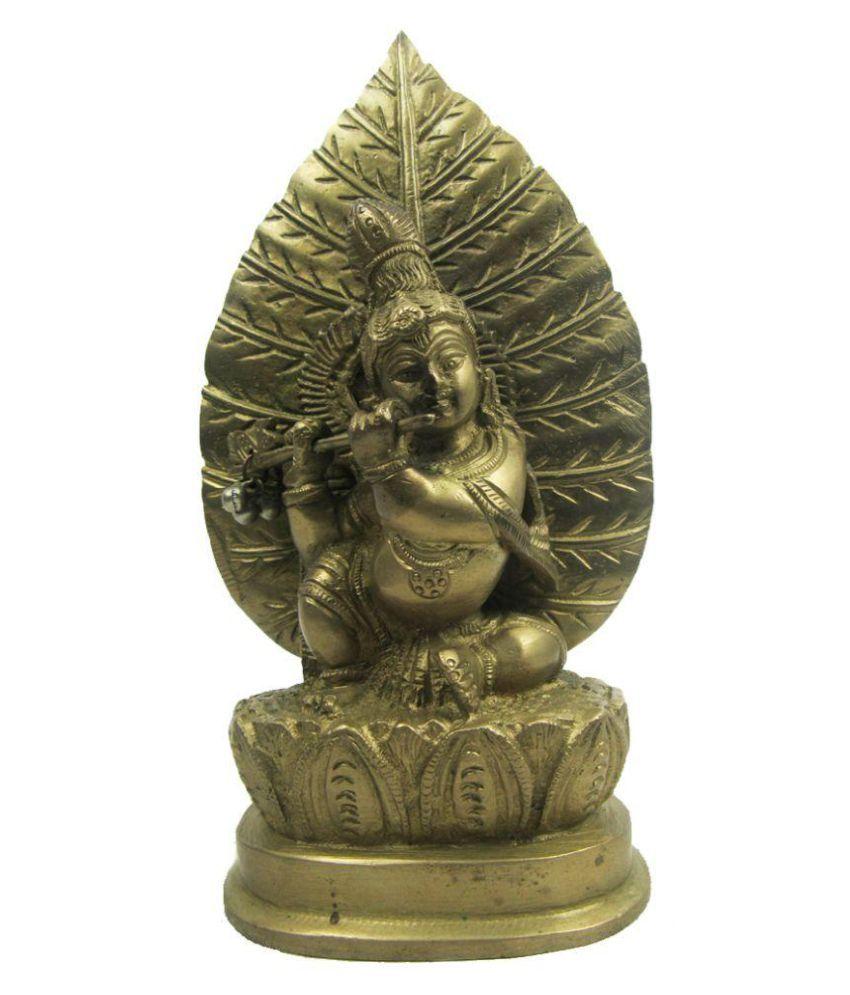 Indian Arts Museum Krishna Brass Idol