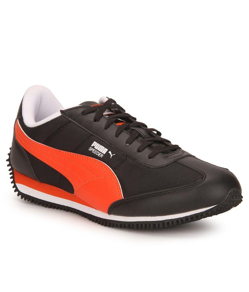 Puma Velocity Tetron II DP Black Running Sports Shoes ...
