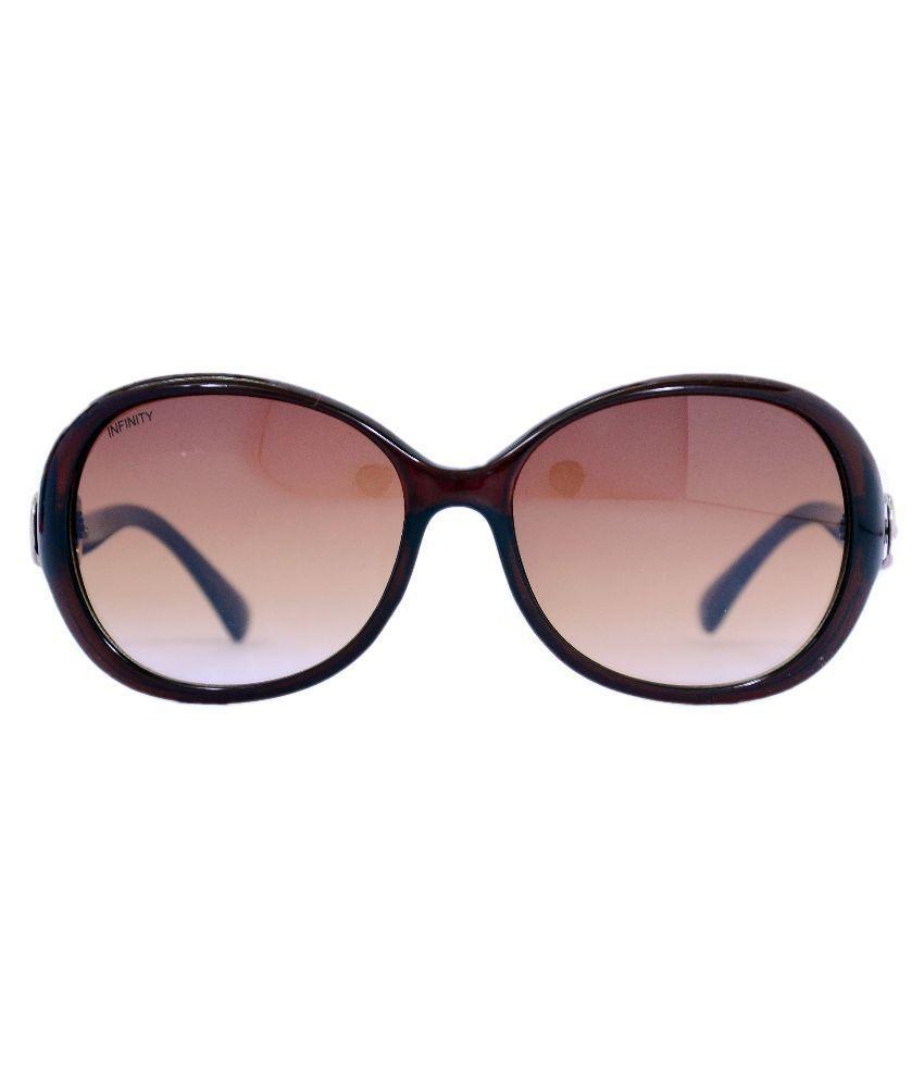 Infinity Brown Wayfarer Sunglasses