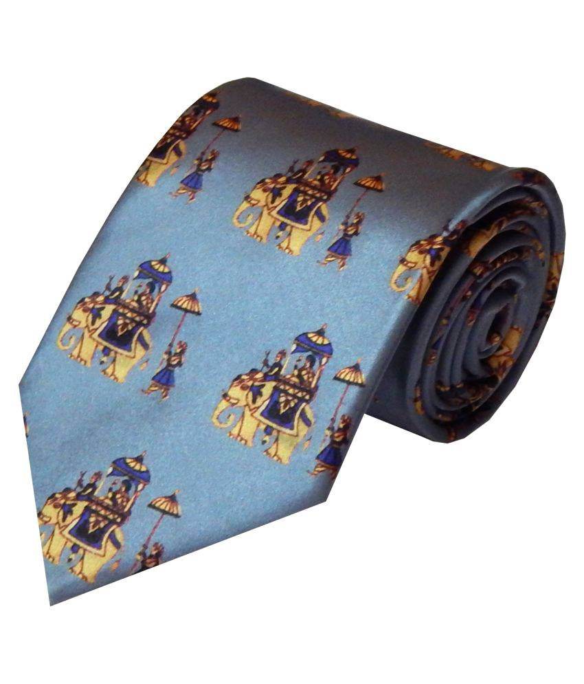 Navaksha Gray Formal Necktie