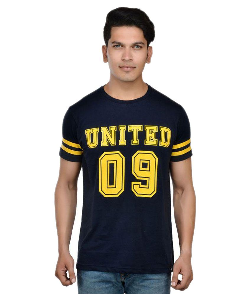 United Indian Navy Round T-Shirt