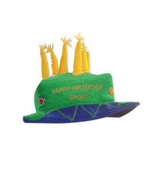 Boys Square Birthday Cake Hat