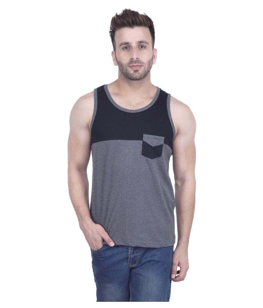 Kay Dee Creations Grey Round T-Shirt