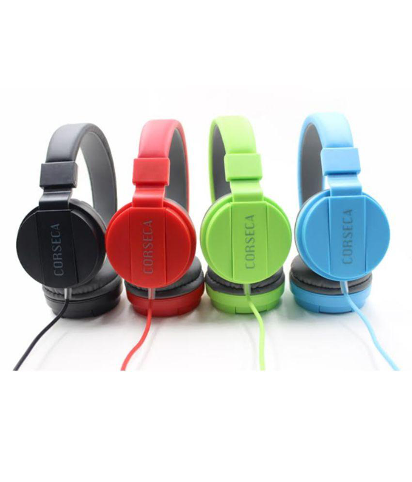 Buy Corseca Dmhw3213 Over Ear Headset With Mic Blue Online