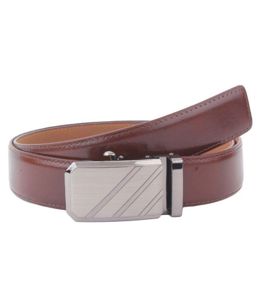 Dscotlee Brown Leather Formal Belts