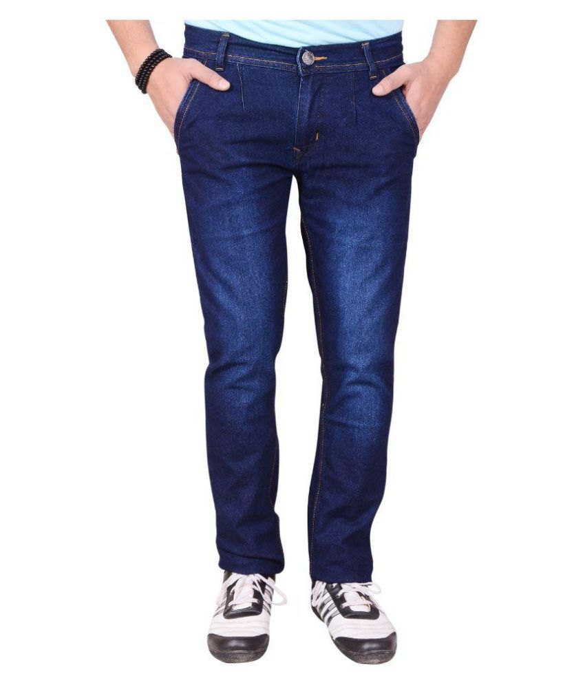Montare Dark Blue Slim Faded