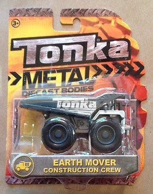 Tonka Metal Diecast Bodies Construction Crew Earth Mover