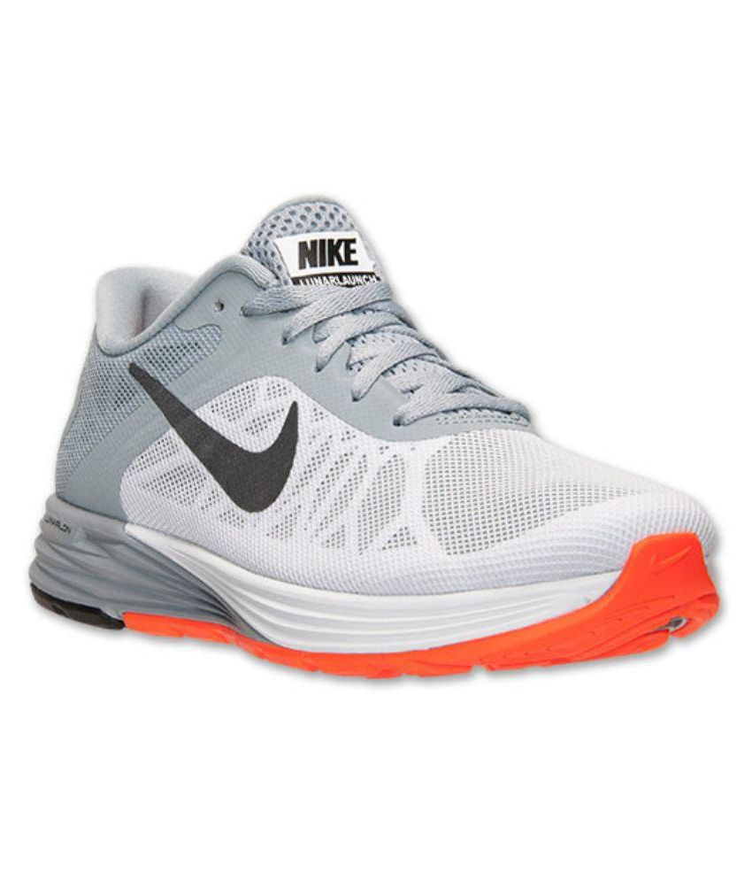 Nike NIKE LUNARLON Gray Running Shoes - Buy Nike NIKE