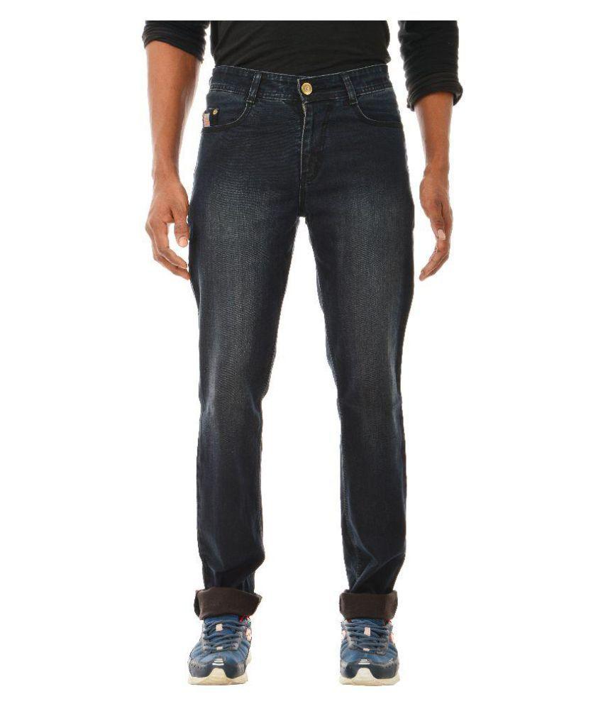 Tom Crew Club Black Slim Washed Jeans