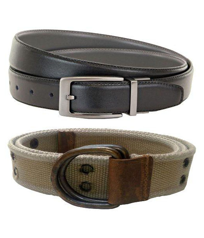 V-Luma Multi Canvas Casual Belts