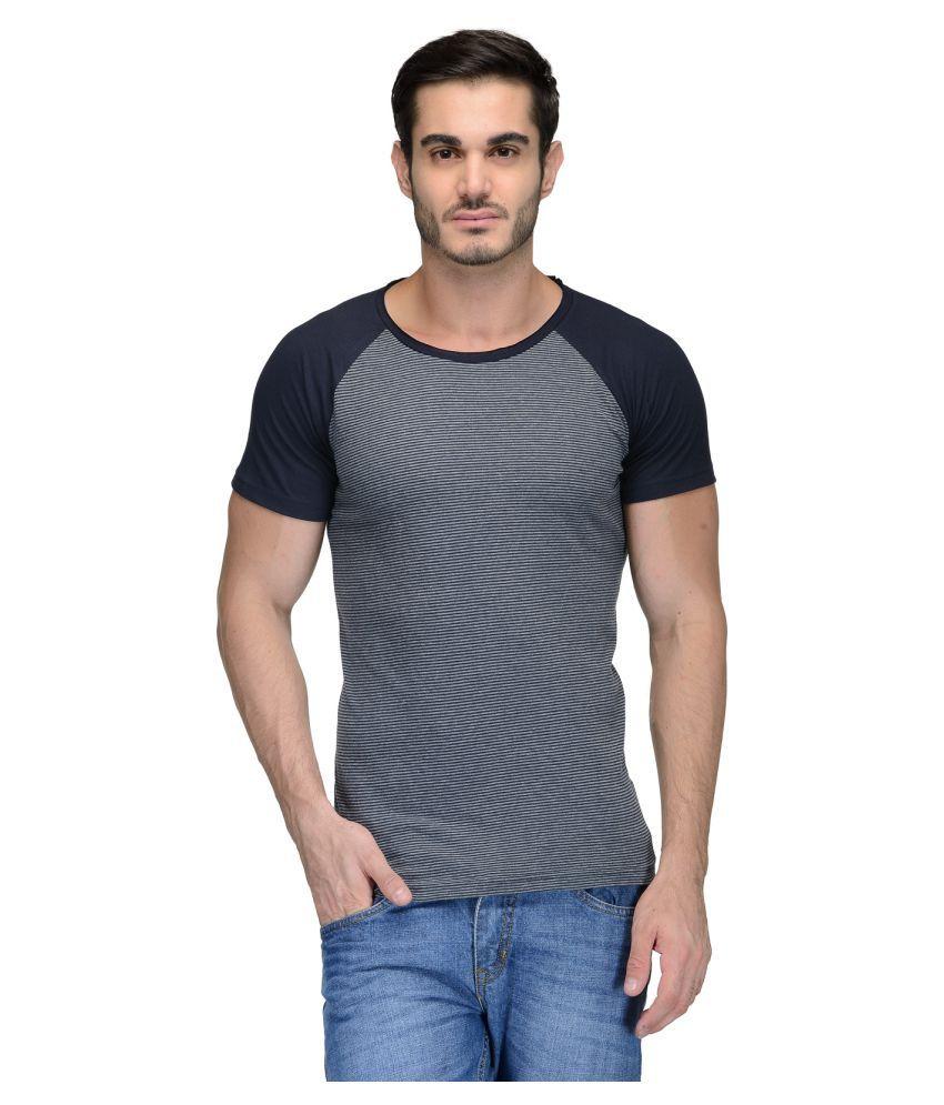 Teesort Grey Round T-Shirt