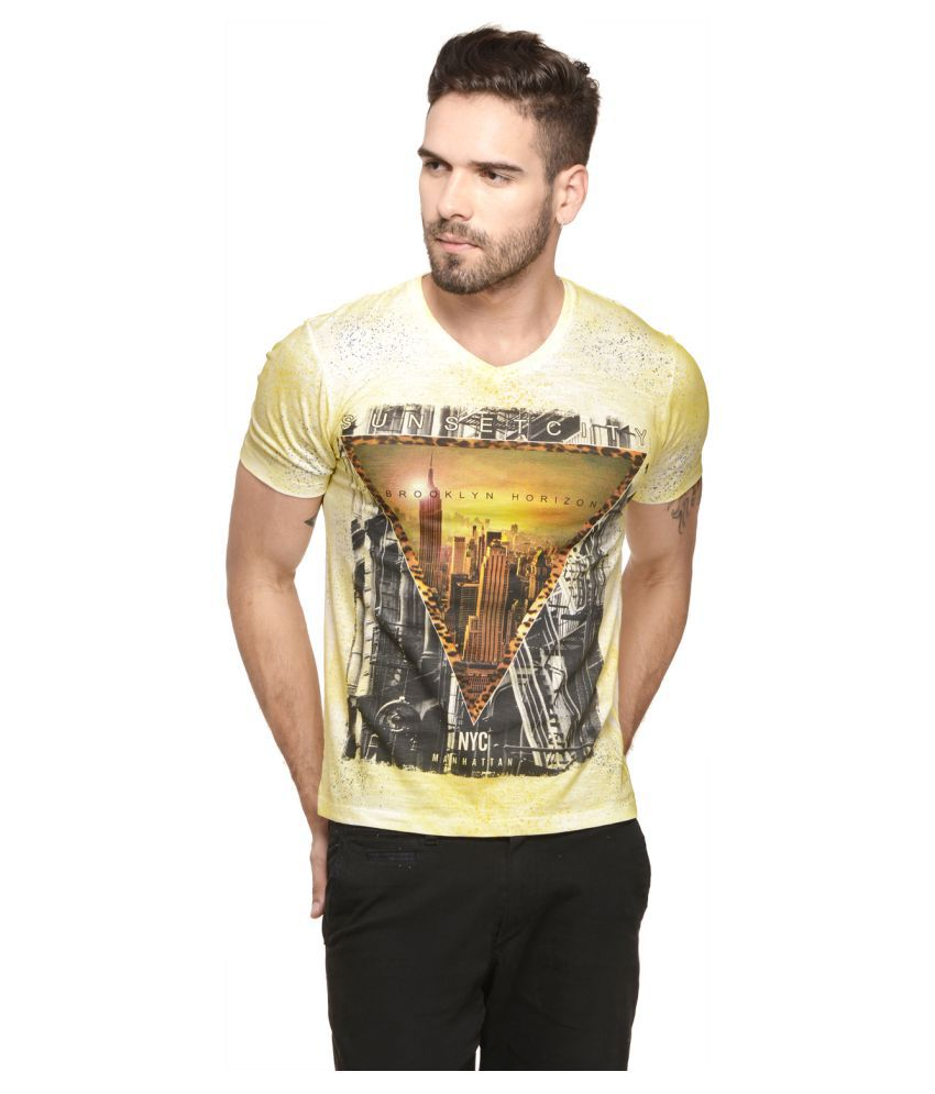Mode Vetements Multi V-Neck T-Shirt