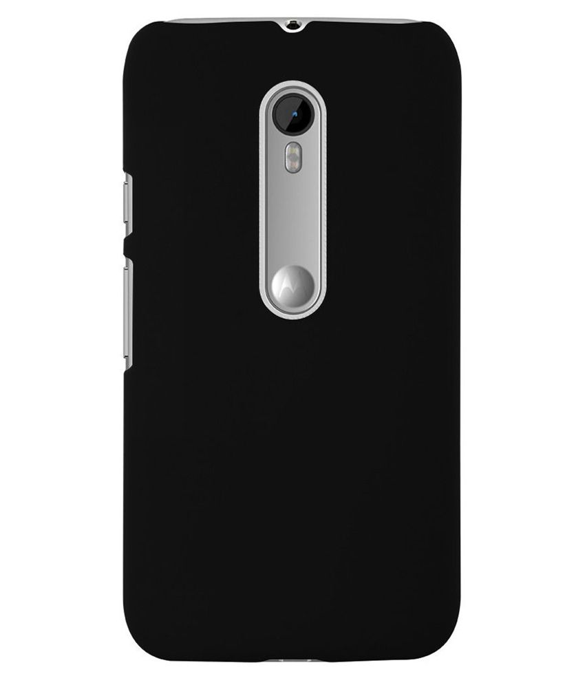 cheap for discount 2b55b dec46 Motorola Moto X Play Cover by My Silver Wings - Black