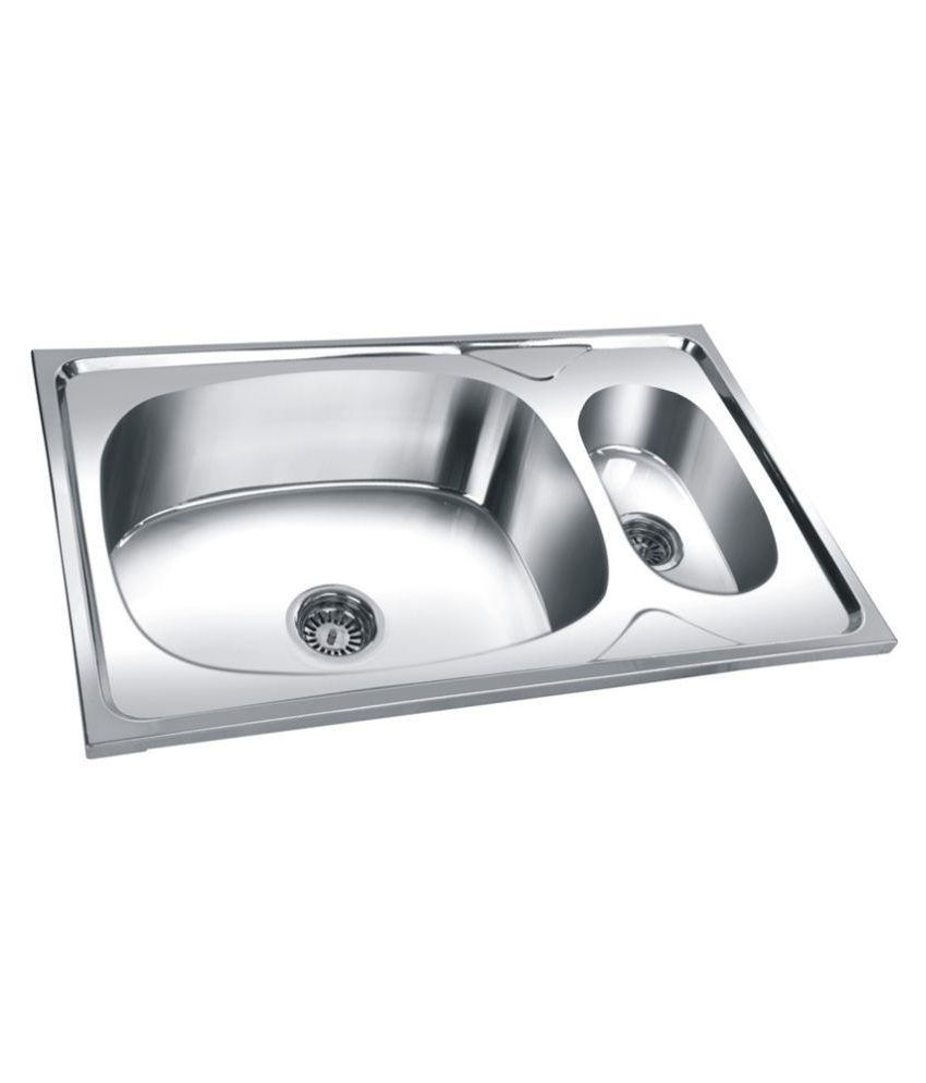 ... Silver Stainless Steel Sink Online at Low Price in India - Snapdeal