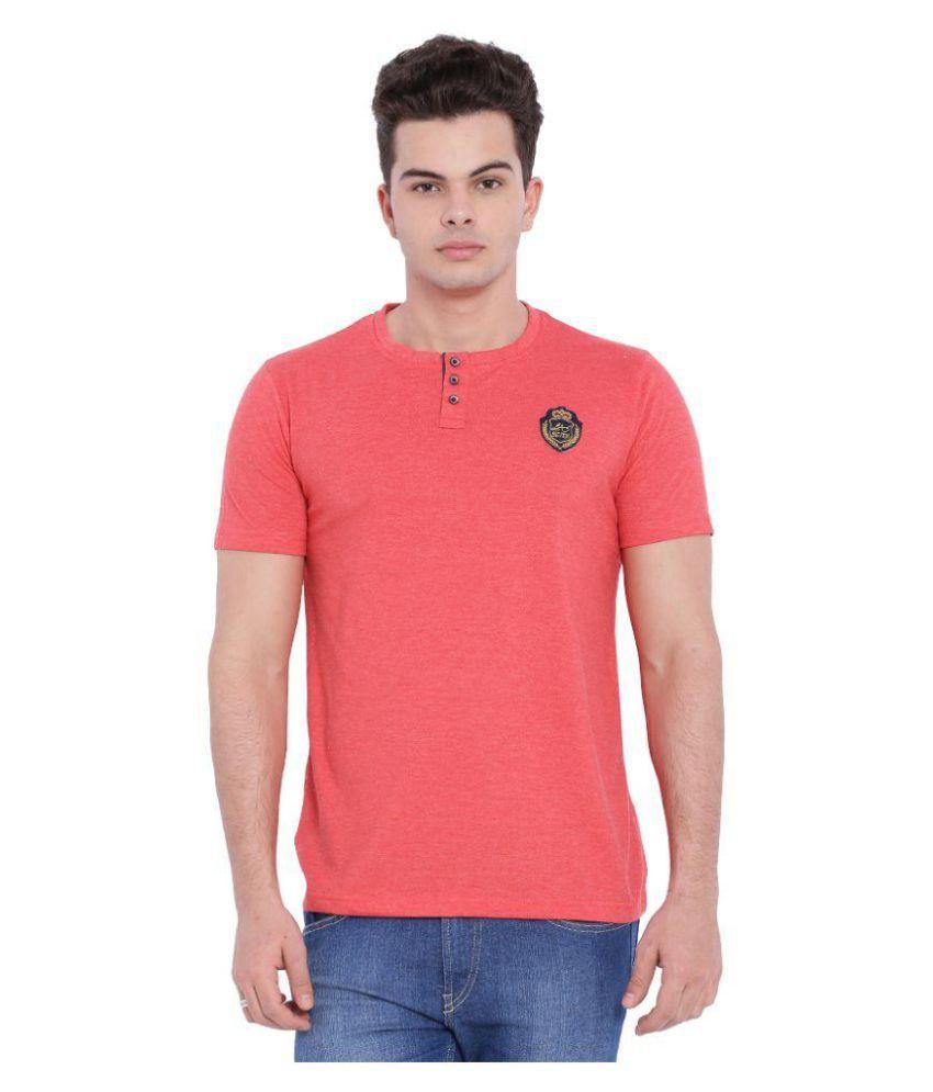 L.A. Seven Pink Round T-Shirt