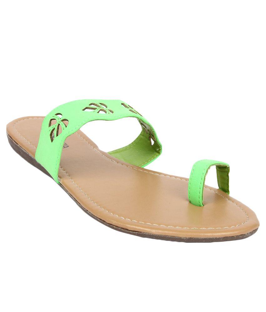Senorita by Liberty G1-00304 Green Slippers for Ladies