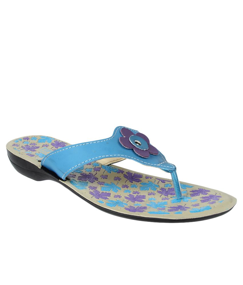 Tiptopp By Liberty Blue Slippers
