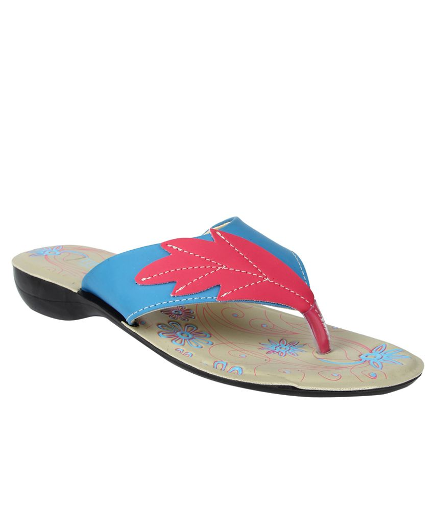 Tiptopp By Liberty Leaf Pink Slippers