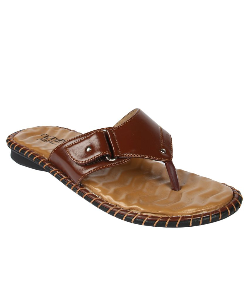 Tiptopp By Liberty Brown Slippers