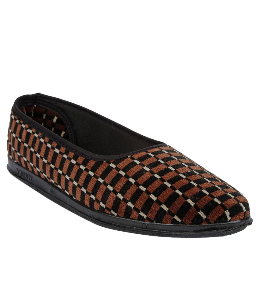 Gliders By Liberty Spl.Belly Brown Ballerina For Ladies discount fashionable outlet genuine geniue stockist for sale outlet new arrival IpwEGz