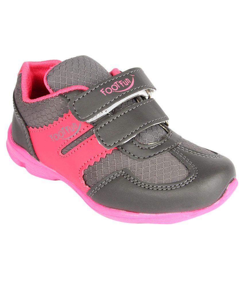 Footfun By Liberty Grey Casual Shoes