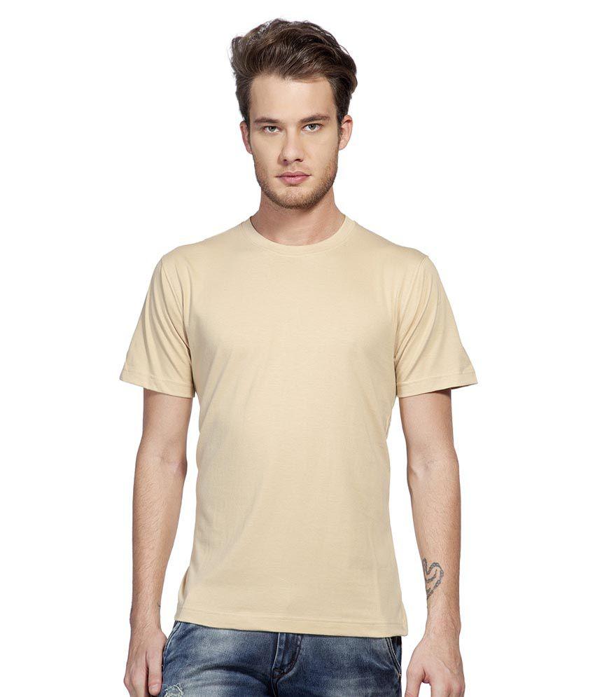 Clifton Beige Round T-Shirt