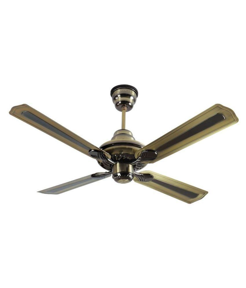 Giant Ceiling Fan Price Philippines: Havells 1200 Florence Ceiling Fan Black Antique-brass