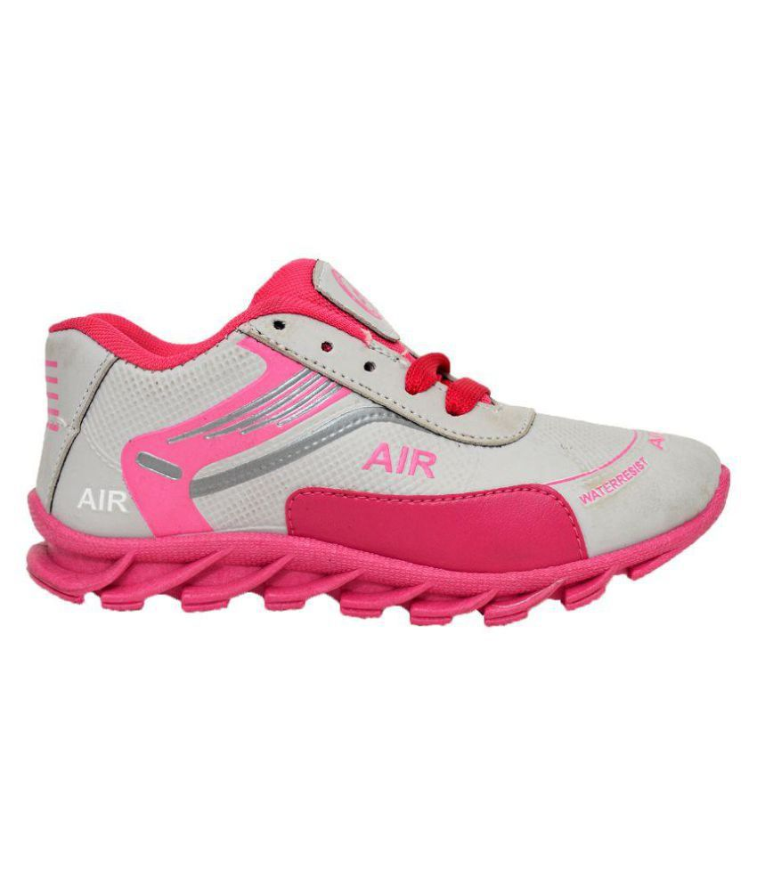 Buy Bunnies Pink Sports Shoes for Girls