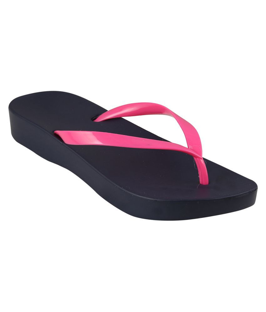 Go India Store Pink Slippers