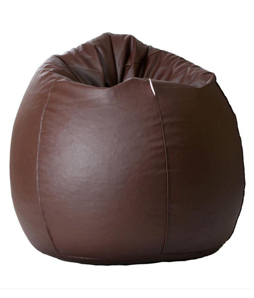 Comfy XXL Filled Bean Bag Brown