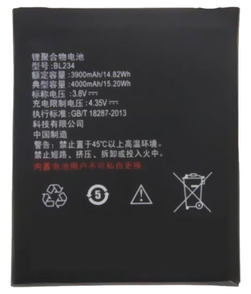 Lenovo P70 4000 mAh Battery by Lenovo
