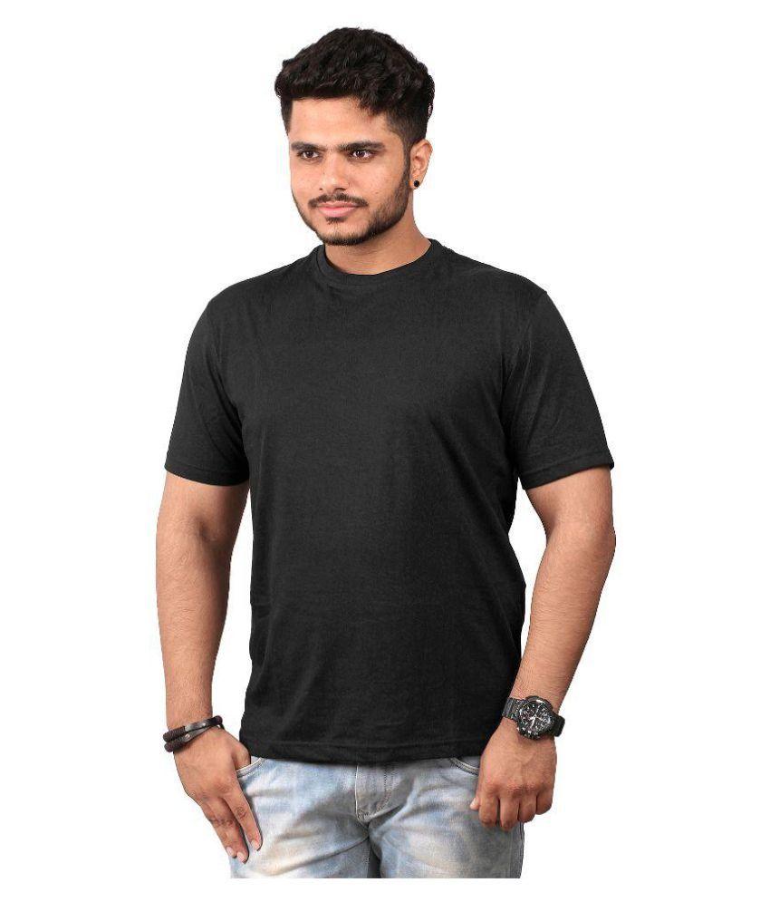 Abrazo Black Round T-Shirt