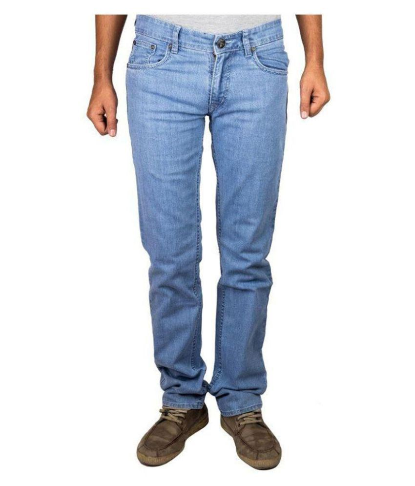 Sine India Blue Slim Washed