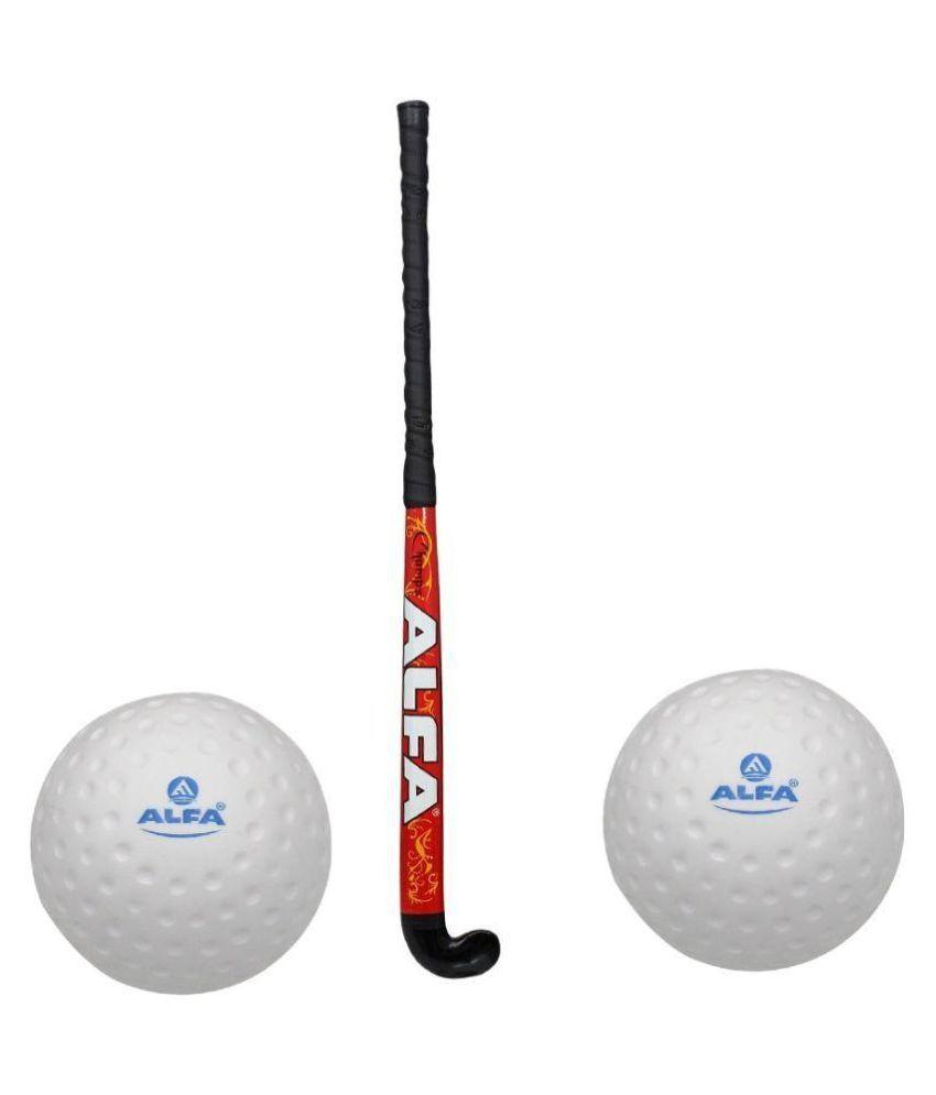 Alfa Hockey Stick with 2 Hockey Ball