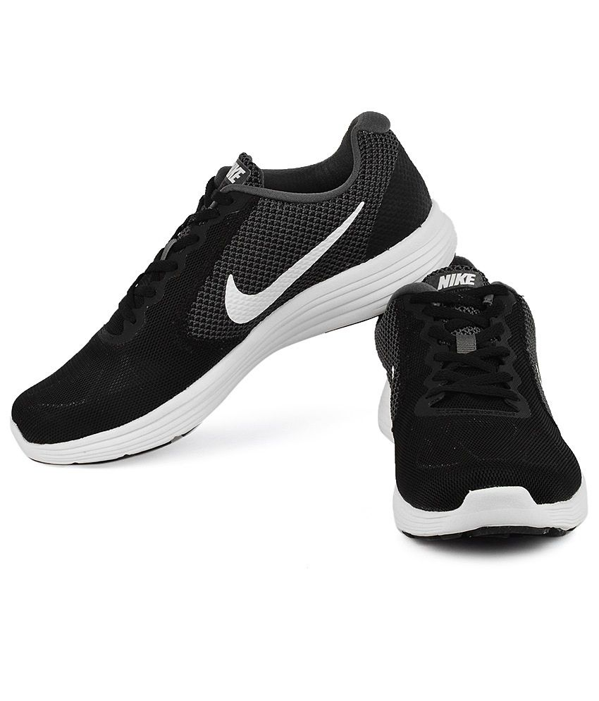 33425519b3 Nike 819300-001 Black & Gray Running Sports Shoes - Buy Nike 819300 ...