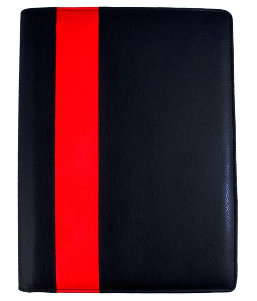 Coi Black Leather Folder