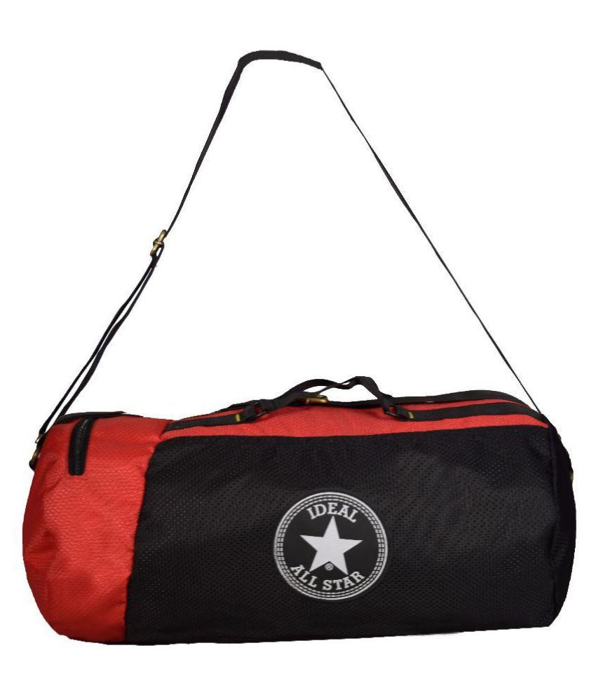 Ideal Red and Black Gym Bag